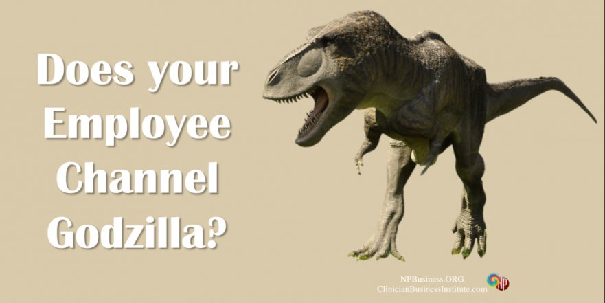 Does Your Employee Channel Godzilla on NPBusiness.ORG
