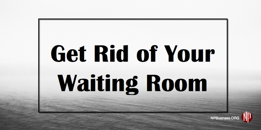 how to get rid of the feeling of waiting