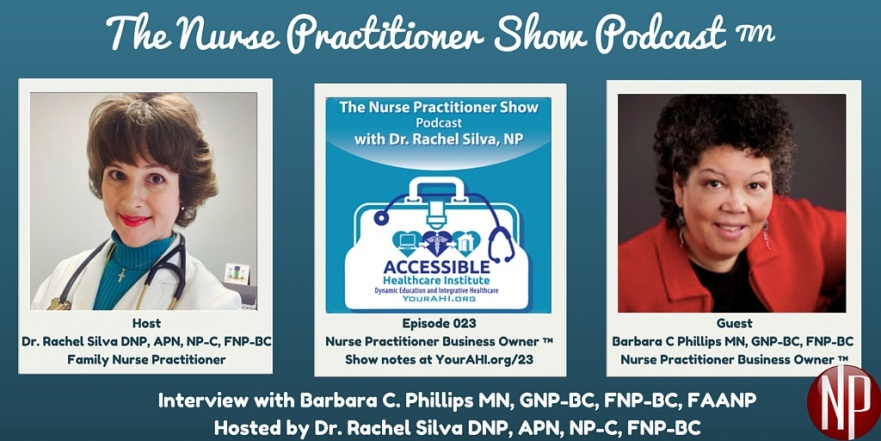Barbara C Phillips on The Nurse Practitioner Show