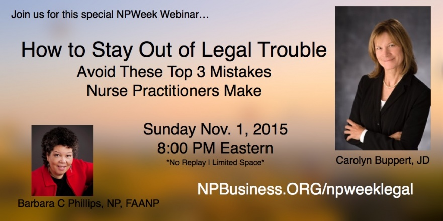 How to Stay out of Legal Trouble with Carolyn Buppert, JD on npbusiness.org