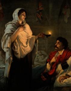 Florence_Nightingale._Coloured_lithograph._Wellcome_V0006579_mini