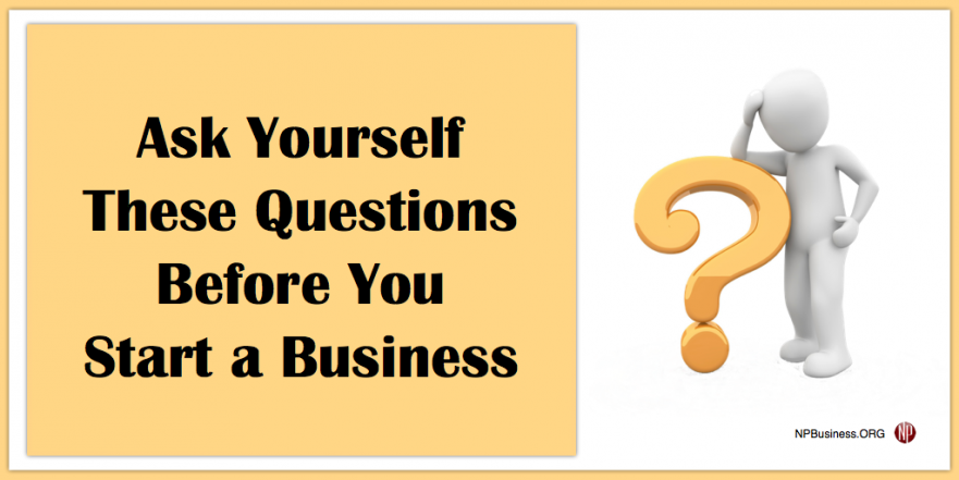 Ask Before You Start on NPBusiness.ORG