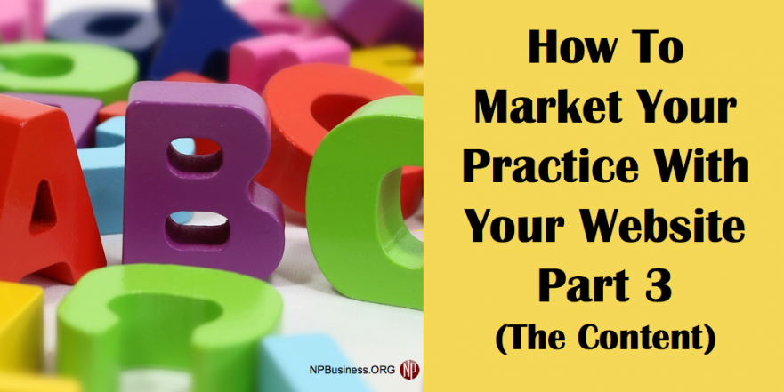 Market Your Practice on NPBusiness.ORG