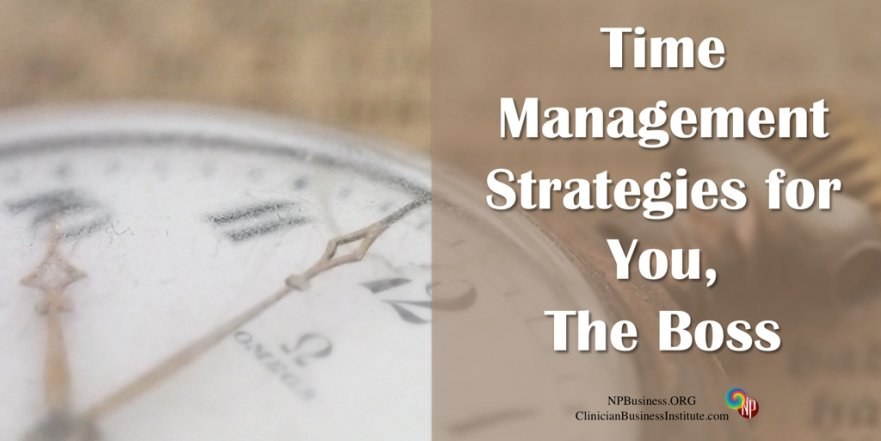 Time Management on NPBusiness.ORG