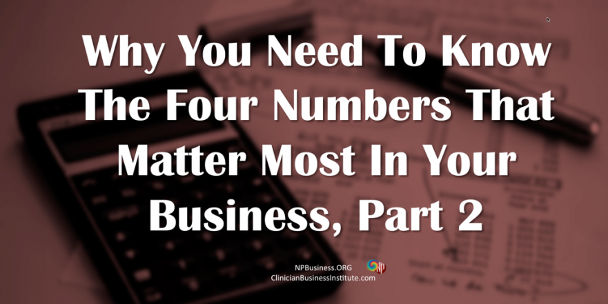 Four Numbers You Need on NPBusiness.ORG