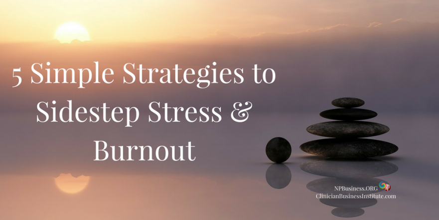 Avoid Stress & Burnout - NPBusiness.org