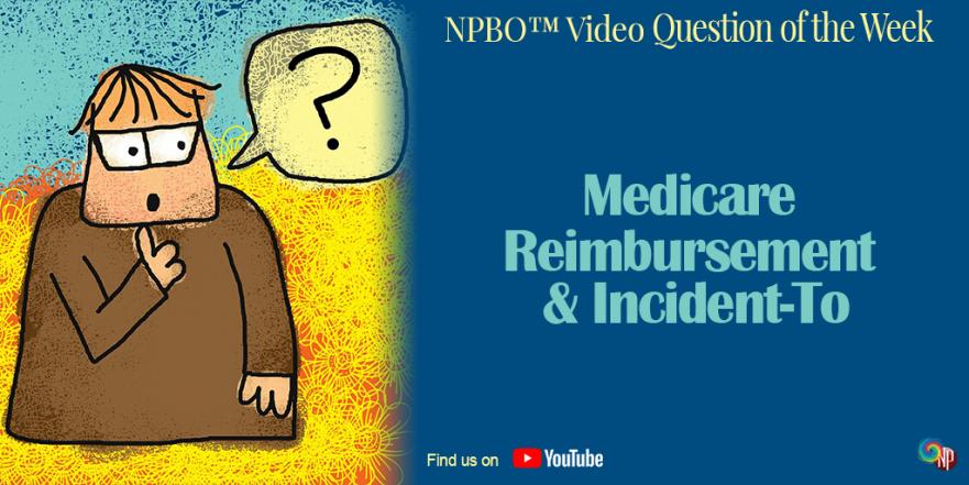 Medicare Reimbursement Incident To on NPBusiness.ORG