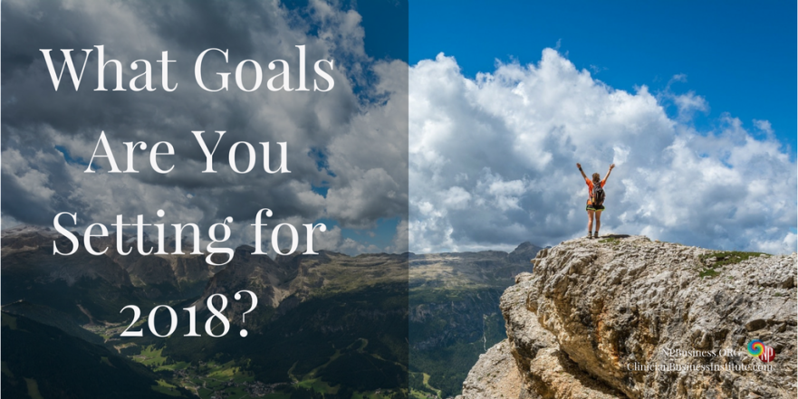 What Goals Are you Setting for 2018 - NPBusiness.ORG