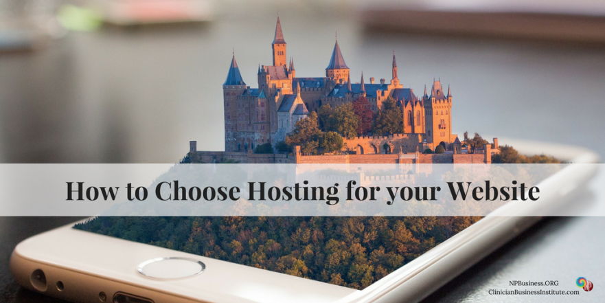 Choose Hosting for Your Practice Website on NPBusiness.ORG