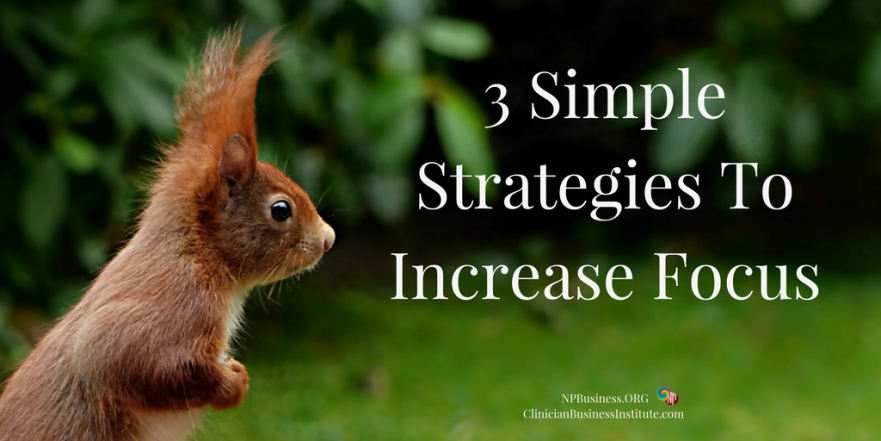 3 Simple Strategies To Increase Focus on NPBusiness.org