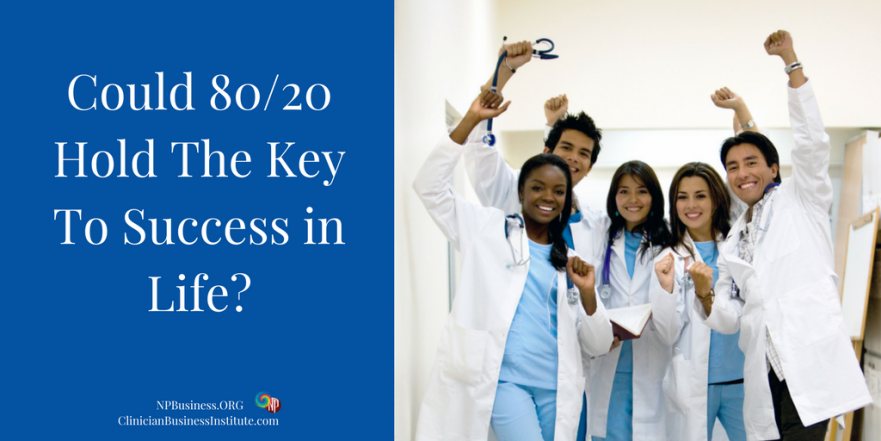 Could 80-20 Hold The KeyTo Success in Life on NPBusiness.ORG