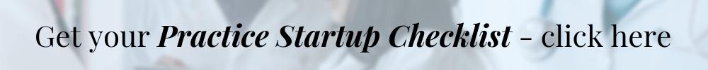 Practice Startup Checklist
