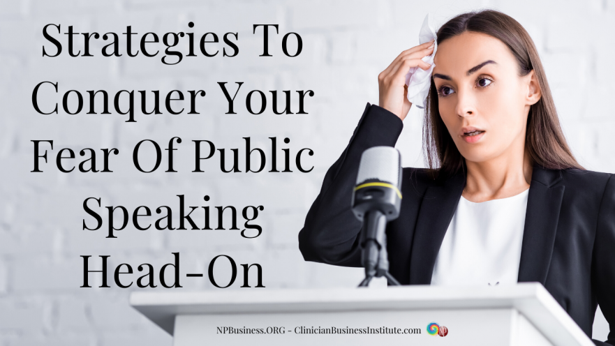 Fear of Public Speaking on NPBusiness.ORG