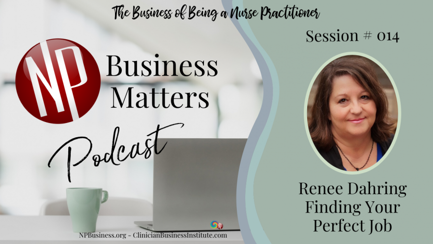 Renee Dahring on Finding Your Perfect Job - NPBusiness.ORG
