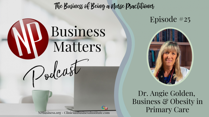 Angie Golden on Business, Writing and Obesity on NPBusiness.ORG